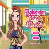 Bohemian Style Dress Up