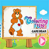 Coloring Care Bear
