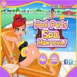 Pool Party Makeover