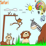 Safari Coloring