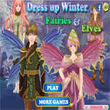 Winter Fairies and Elves