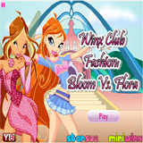 Winx Bloom vs Flora